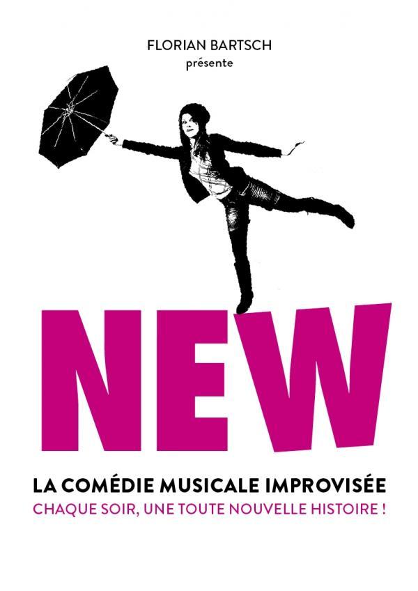 New, la comédie musicale improvisée, affiche